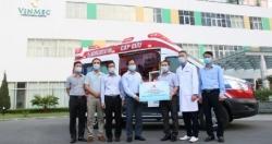 Vingroup tặng Quảng Ninh xe cứu thương hiện đại bậc nhất Việt Nam
