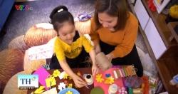 Mẹ giữ lại đồ vứt đi, cùng con gái làm những đồ vật xinh yêu