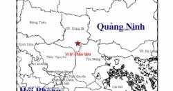 Xuất hiện động đất 3,2 độ richter tại Quảng Ninh