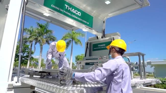 """Khám phá xe tiêm chủng vắc xin COVID-19 lưu động """"có một không hai"""" tại Việt Nam"""